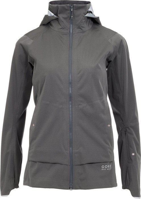 Gore Bike Wear Power Trail Gore-Tex Active cycling jacket raven brown (ladies) (JGAFEE-3200)