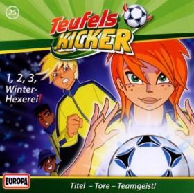 Teufelskicker Folge 25 - 1, 2, 3, Winter-Hexerei!
