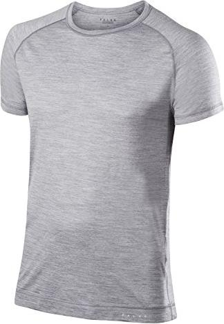 Falke Silk-Wool Shirt kurzarm grey-heather (Herren) -- via Amazon Partnerprogramm