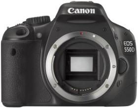 Canon EOS 550D schwarz Body (4463B017)