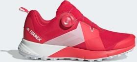 adidas Frauen Terrex Two BOA Trail Running Schuh active pinkshock redftwr white BC0456