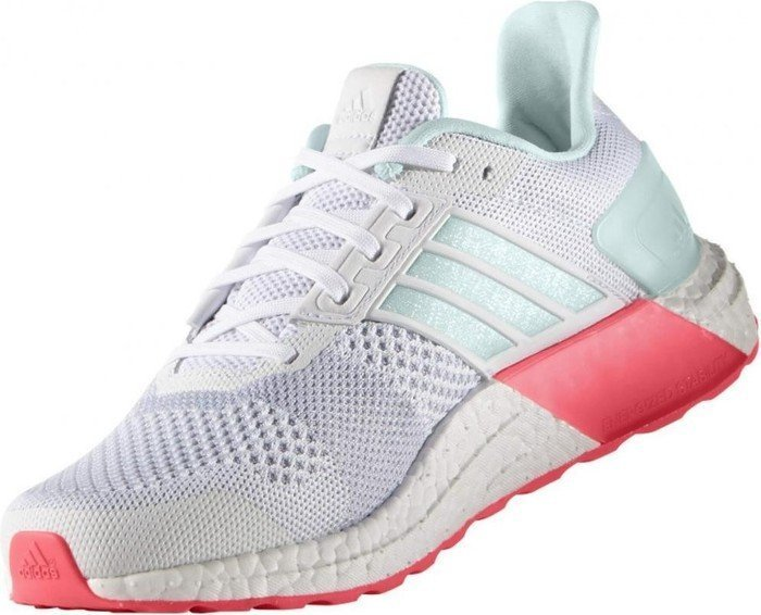 fb026c81335ff adidas Ultra Boost ST white ice mint shock red (ladies) (AQ4433) starting  from £ 119.99 (2019)