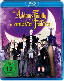 Die Addams Family in verrückter Tradition (Blu-ray)