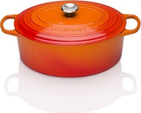 Le Creuset Signature Gusseisen Bräter oval 40cm ofenrot (21178400902430)