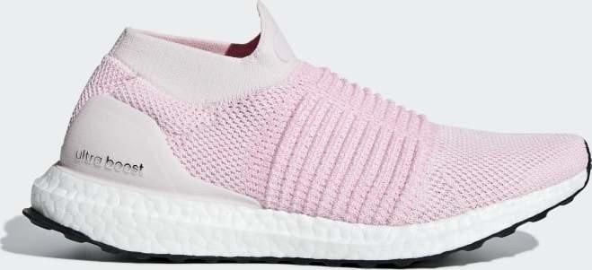 c96c29d40 adidas Ultra Boost Laceless pink true pink carbon (ladies) (B75856 ...