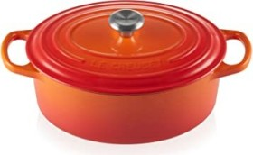 Le Creuset Signature Gusseisen Bräter oval 27cm ofenrot (21178270902430)