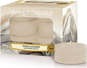 Yankee Candle Warm Cashmere Teelicht Duftkerze, 12 Stück