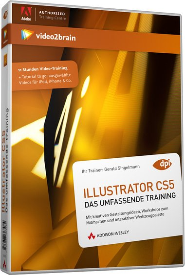 video2brain: Illustrator CS5: the comprehensive training (German) (PC/MAC)