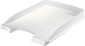 Leitz Plus Briefkorb Flach A4, weiß (52370001)