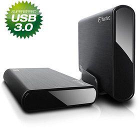 Fantec DB-ALU3 schwarz 2TB, USB-B 3.0 (14343)
