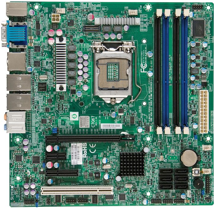 Supermicro C7Q67 retail (MBD-C7Q67-O)