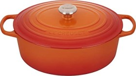 Le Creuset Signature Gusseisen Bräter oval 33cm ofenrot (21178330902430)