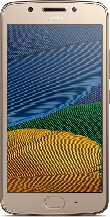Motorola Moto G5 Single-SIM gold