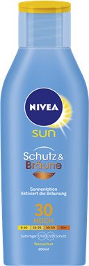 Nivea Sun protect & bronze Sun lotion LSF30 200ml
