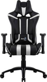 AeroCool AC120 AIR Gamingstuhl, schwarz/weiß (AC120AIR-BW)