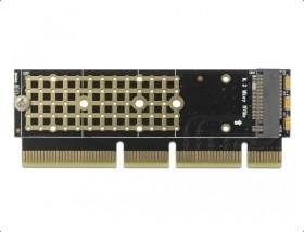 DeLOCK PCI Express x16 x4/x8 Card to 1x NVMe M.2 Key M for Server (90303)