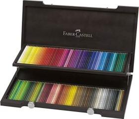 Faber-Castell Polychromos Künstlerfarbstift Holzbox sortiert, 120er-Set (110013)