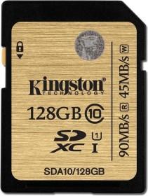 Kingston Ultimate R90/W45 SDXC 128GB, UHS-I, Class 10 (SDA10/128GB)