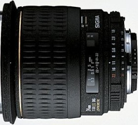 Sigma AF 24mm 1.8 EX DG Asp macro for Sony A black (432934)
