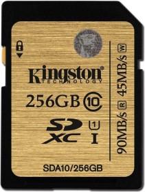 Kingston Ultimate R90/W45 SDXC 256GB, UHS-I, Class 10 (SDA10/256GB)