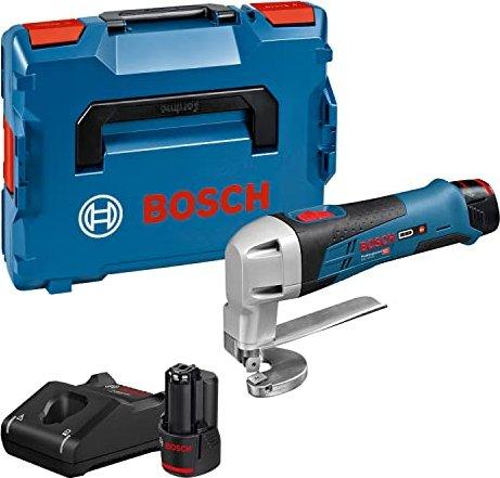 Bosch Professional GSC 12V-13 Akku-Schere inkl. L-Boxx + 2 Akkus 2.0Ah (0601926108) -- via Amazon Partnerprogramm