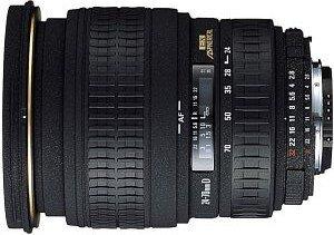 Sigma AF 24-70mm 2.8 EX Asp Makro für Sony/Konica Minolta schwarz (546934)