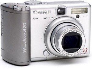 Canon PowerShot A70 Bundle z Drukarki CP-200