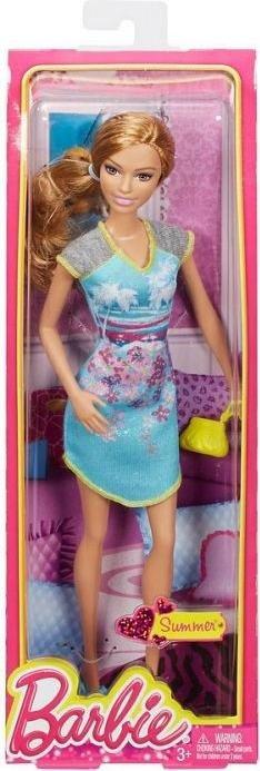 Mattel BHV08-11A Barbiepuppen & Zubehör /Mattel Barbie Fashionistas Pyjama Party Summer