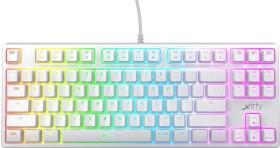 Xtrfy K4 TKL RGB, weiß, Kailh RED, USB, US (XG-K4-RGB-TKL-WH-US)