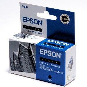 Epson T036 tusz czarny (C13T03614010)