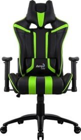 AeroCool AC120 AIR Gamingstuhl, schwarz/grün (AC120AIR-BG)