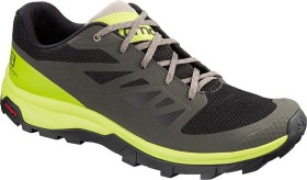Salomon OUTline beluga/lime green/vintage kaki (Herren) (406189)