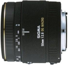Sigma AF 50mm 2.8 EX DG Makro für Sony A schwarz (346934)