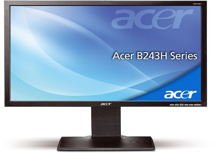 "Acer B3 Business B243HLAOwmdr, 24"" (ET.FB3U.A31)"