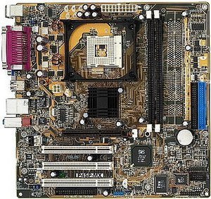 ASUS P4SP-MX, SiS651 (PC-2700 DDR)