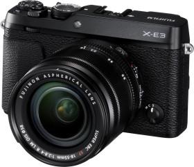 Fujifilm X-E3 schwarz mit Objektiv XF 18-55mm 2.8-4.0 R LM OIS (16558516)
