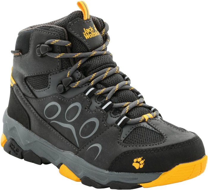 new styles b88ce 845a8 Jack Wolfskin MTN Attack 2 Texapore Mid burly yellow (Junior) ab € 50,99