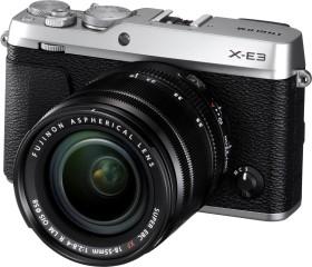 Fujifilm X-E3 silver with lens XF 18-55mm 2.8-4.0 R LM OIS (16558724)