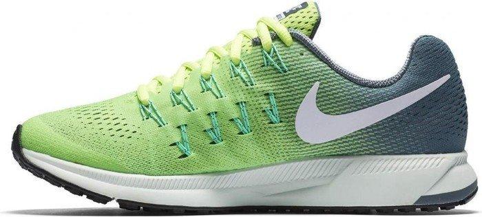 7ad4726f0bfab Nike Air zoom Pegasus 33 ghost green hasta green glow white (ladies ...