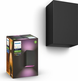 Philips Hue White and Color Ambiance Resonate Wandleuchte schwarz (17464/30/P7)