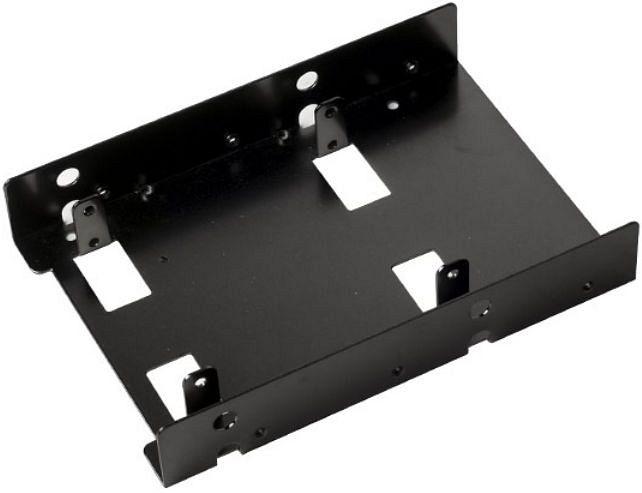 """SilverStone SDP08 schwarz, 3.5"""" Einbaurahmen (SST-SDP08B)"""