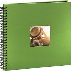 Hama spiral album Fine Art 36x32/50 black pages green (94870)