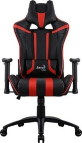 AeroCool AC120 AIR Gamingstuhl, schwarz/rot (AC120AIR_BR)