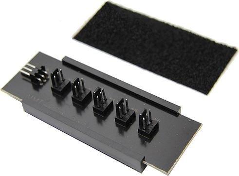 ModMyToys 3-pin molex on 5x 3-Pin fan (MMT-PCB-3-53