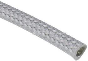 """Techflex Clean Cut 1/8""""/3.2mm grau, Gewebeschlauch (CCP0.13-GY)"""