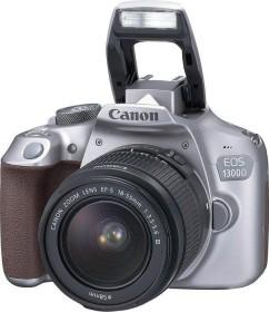 Canon EOS 1300D grau mit Objektiv EF-S 18-55mm 3.5-5.6 III (1744C011)