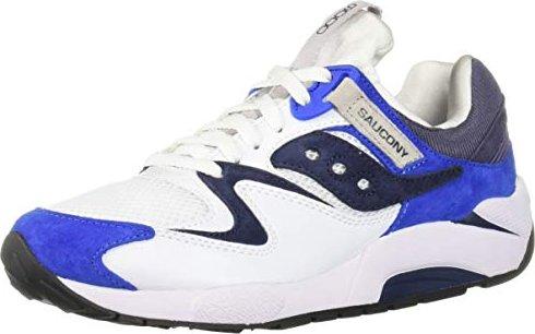 the best attitude ac906 c2964 Saucony Grid 9000 Blue white (men) (S70077-33)