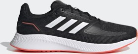 adidas Runfalcon 2.0 core black/cloud white/solar red (Herren) (FZ2803)
