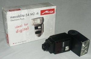 Metz mecablitz 54 MZ-4i do Sony Alpha/Konica Minolta (005444307) -- © bepixelung.org