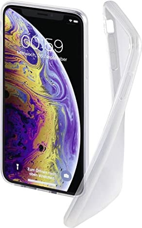 Hama Cover Crystal Clear für Apple iPhone X/XS transparent (184264) -- via Amazon Partnerprogramm